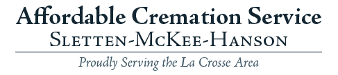 Affordable Cremation Service - Sletten-McKee-Hanson | Proudly Serving the La Crosse Area Logo